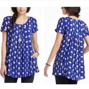 Anthropologie Holding Horses tunic top